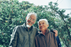 Elderly Couple planning Retirement